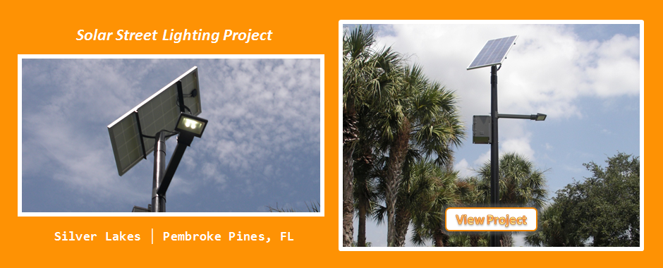 Silver Lakes Solar Street LIghting Project