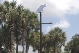 Silver Lakes Solar Street Lighting