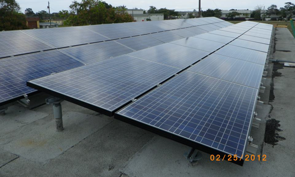 10 Kilo Watt Commercial Solar Electric PV Project